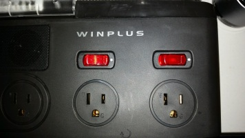 These toggle power just for the individual sockets.