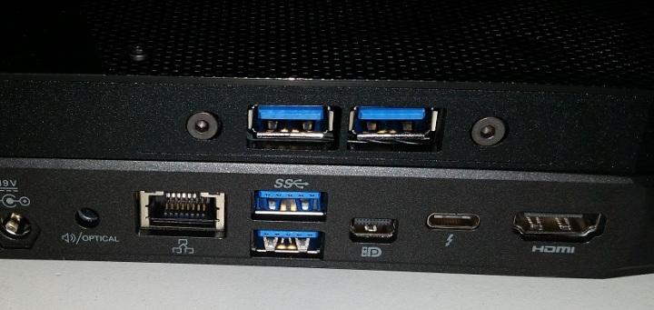 Skull blue ports