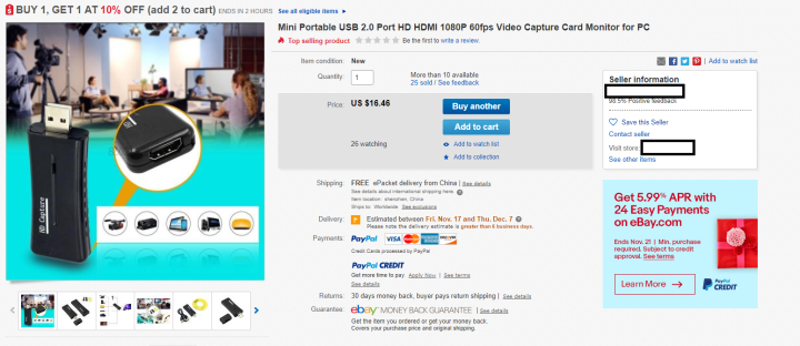 USBCapture_Ebay