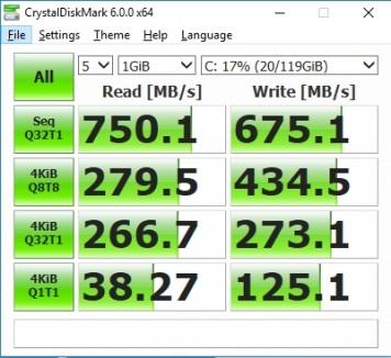 ADATA XPG SX6000 128GB SSD