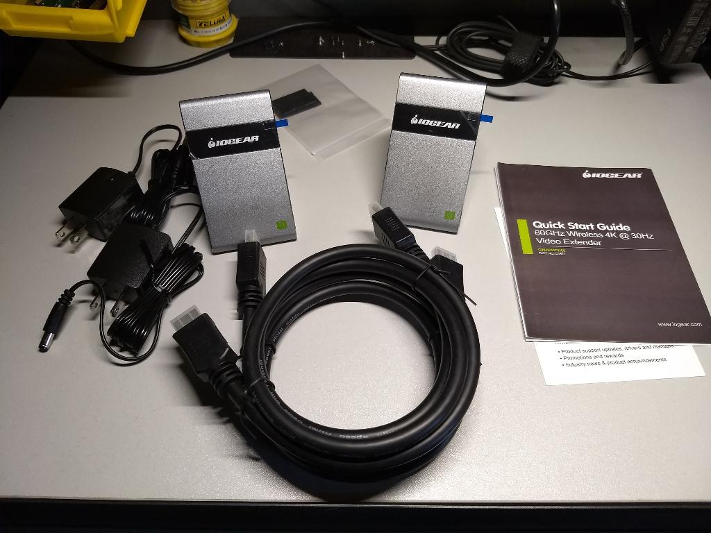 IOGEAR's Wireless 4K Video Extender – Techster's Blog
